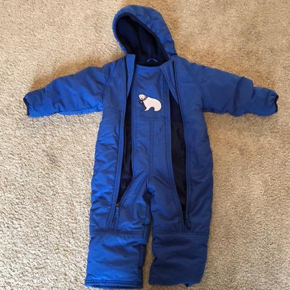 2T Toddler snow suit L.L. Bean